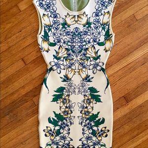 Vintage BCBG Floral Dress